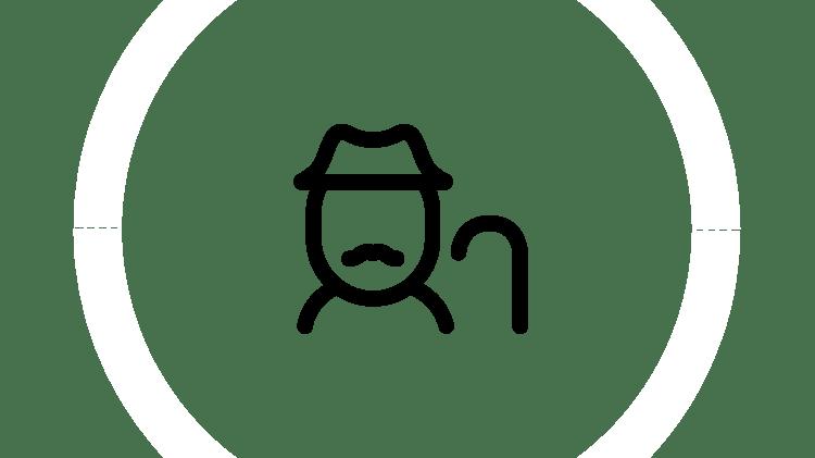 Elderly icon