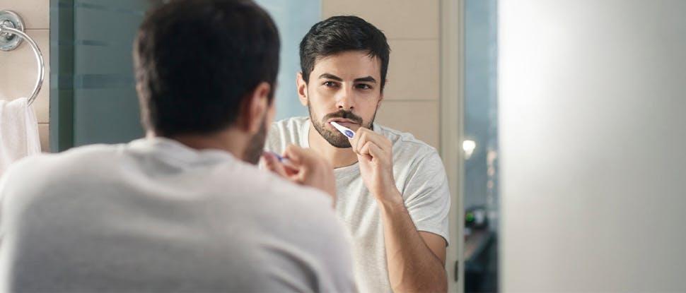 Toothbrush man