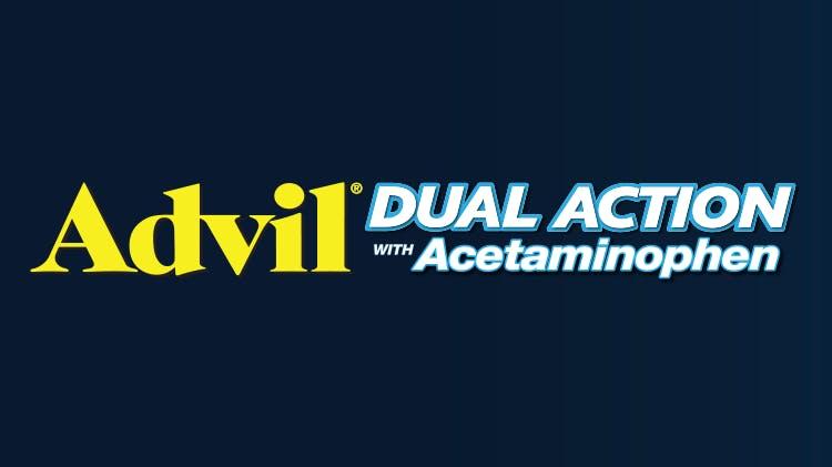 Advil® DUAL ACTION logo