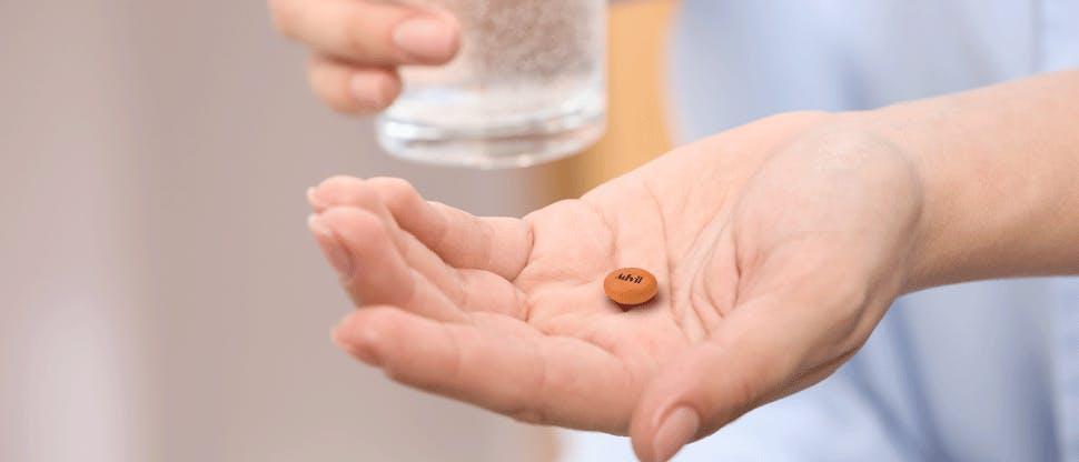 Directions for taking Advil®