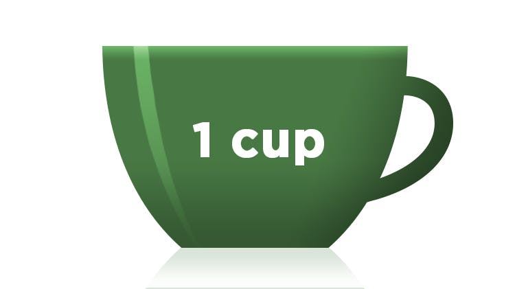 Icon of one cup of coffee