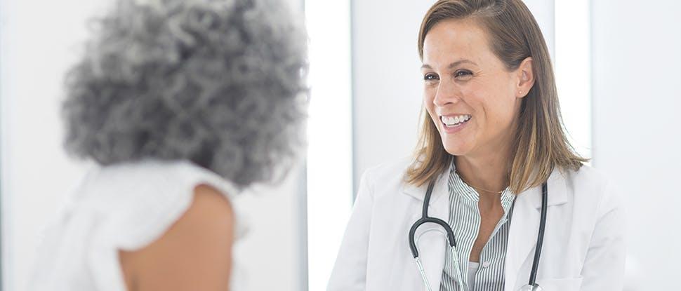 Healthcare professional & patient 4