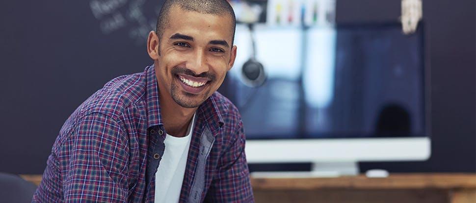Man smiling 2