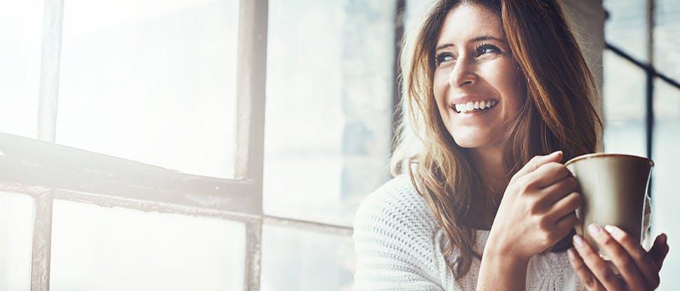 Woman smiling 1