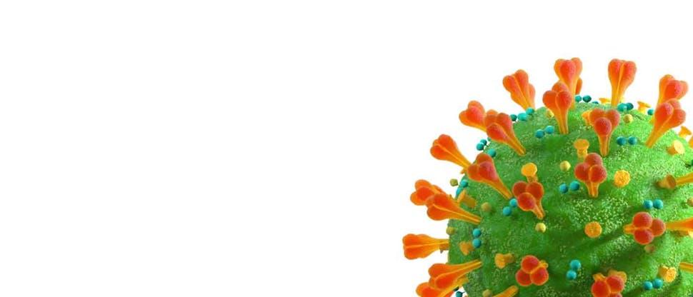 COVID-19 molecule image