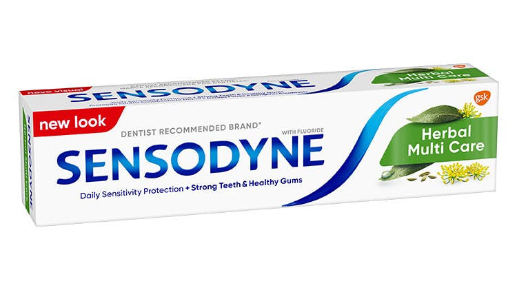 Sensodyne Herbal packshot