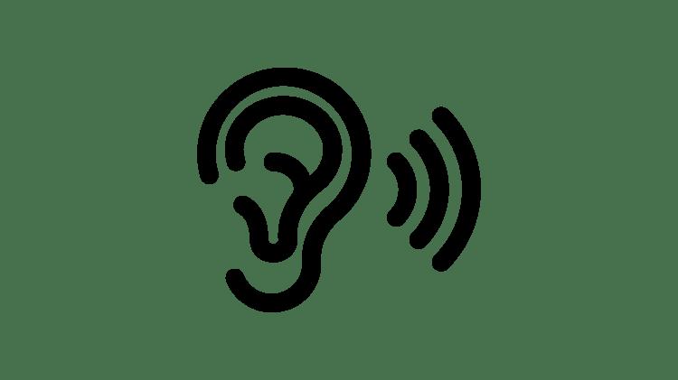 Icono de escuchar