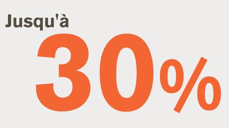 Image « jusqu'à 30 % »