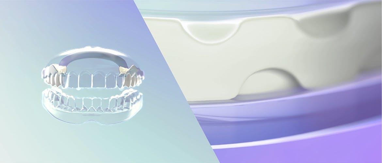 [Capture d'écran vidéo du mode d'action du fixatif pour prothèse dentaire]