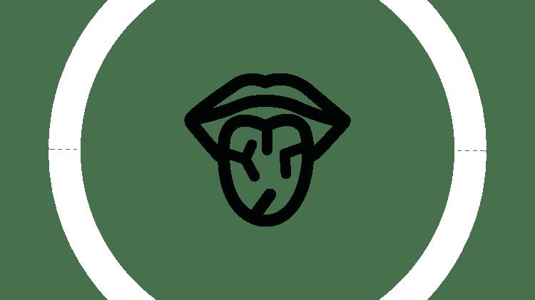 Szájszárazság ikon