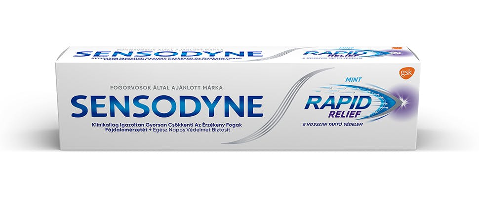 Sensodyne Rapid csomagolás