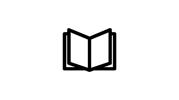 Icona libro di testo