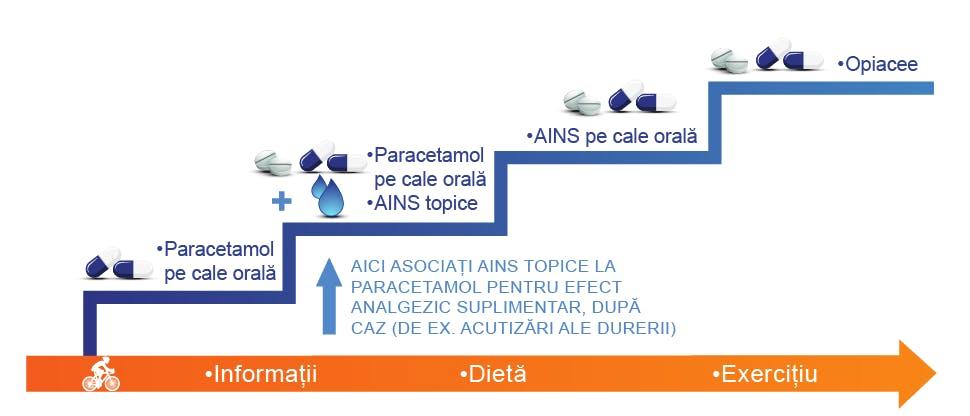 Algoritm de tratament pentru artroză14-16
