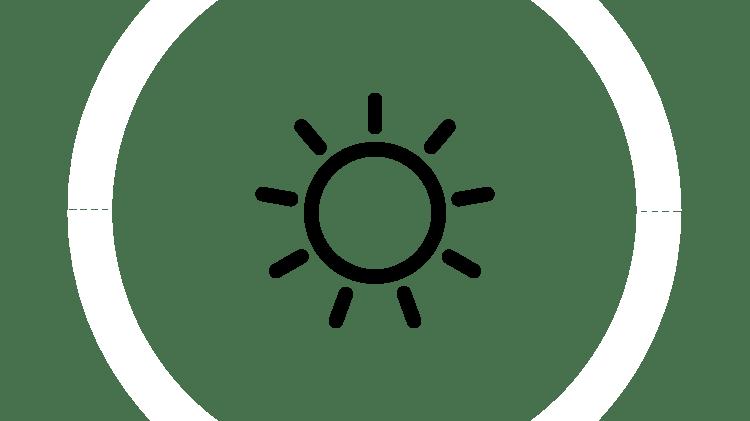 Графическое изображение солнца