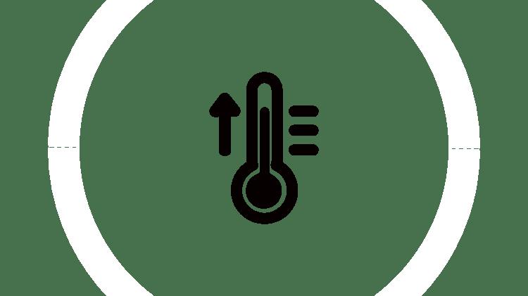 Графическое изображение термометра и снежинки