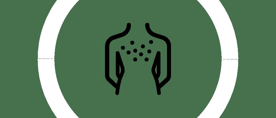 изображение раздраженной кожи