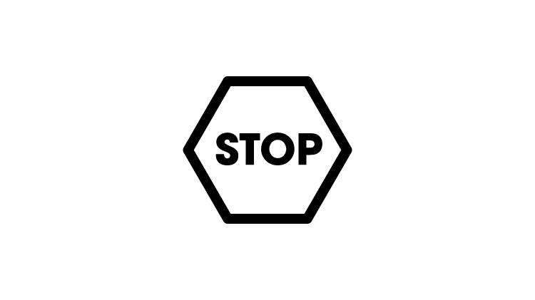 графическое изображение знака «Стоп»
