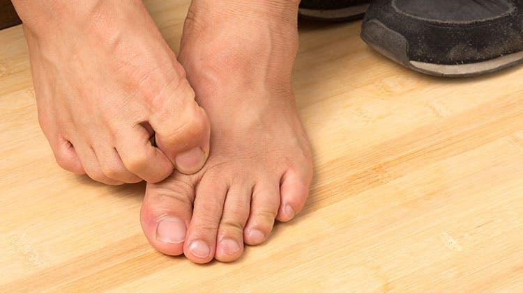 Зудящие пальцы ног