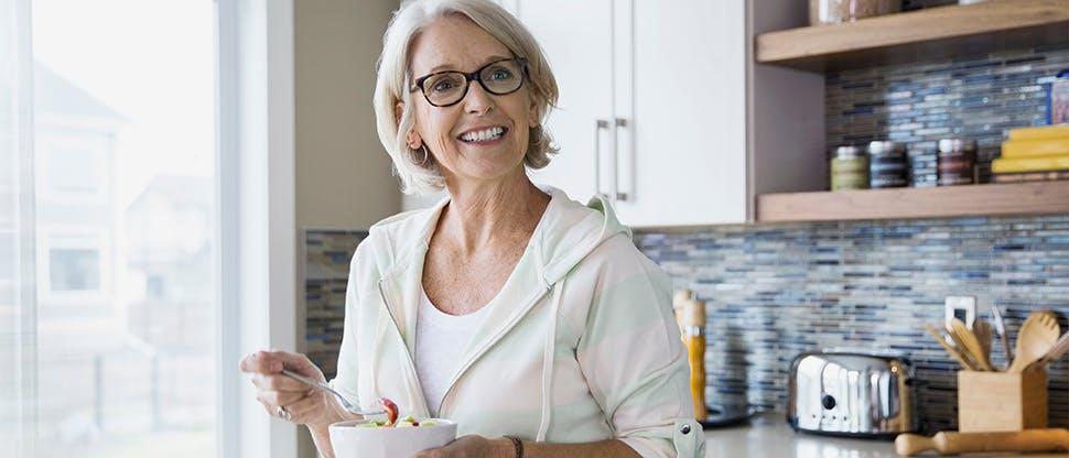 Mutfaktaki kadın