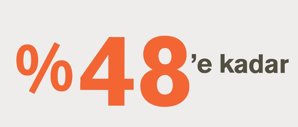 %48'e kadar bilgilendirici görsel malzeme