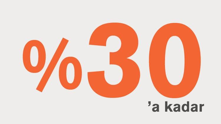 %30'a kadar simgesi