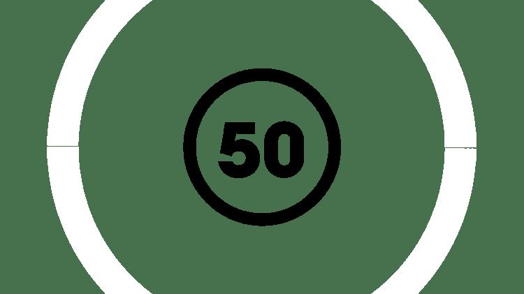 50 yıl simgesi