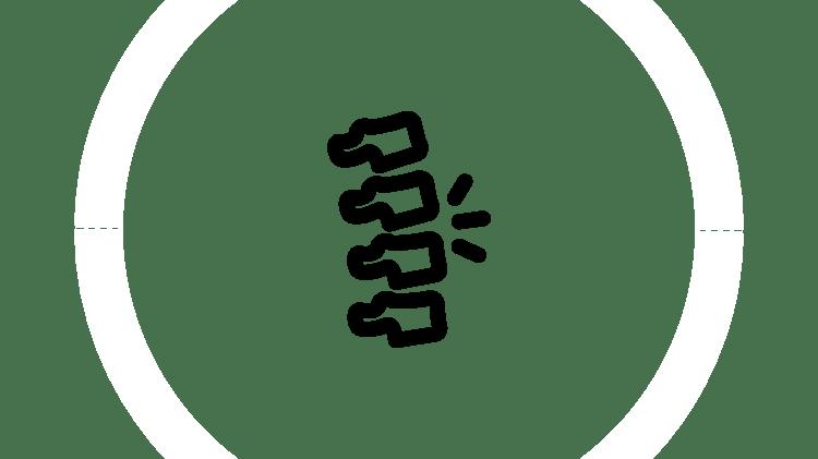 Bel ağrısı simgesi
