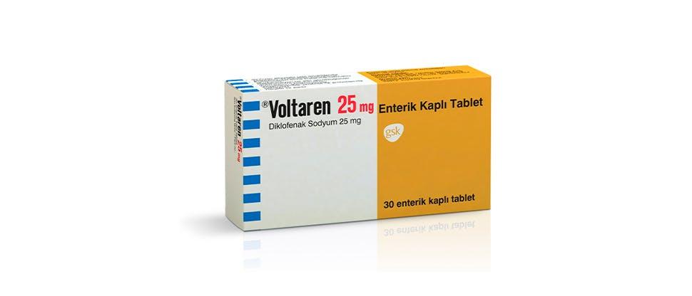 Voltaren tablet ürün görseli
