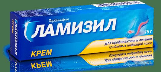 Упаковка крема Ламизил пэкшот