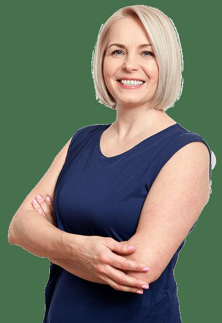 Woman Weight Loss Pose