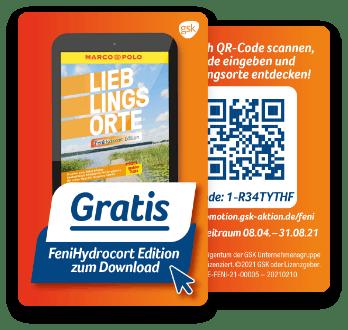 Gratis eBook Download Reiseführer MarcoPolo Lieblingsorte FeniHydrocort Edition