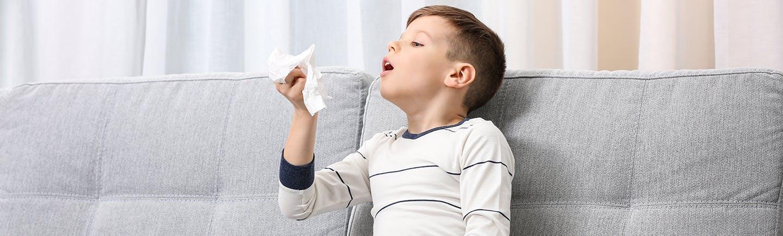 Come distinguere allergia o raffreddore nei bambini - Narhinel