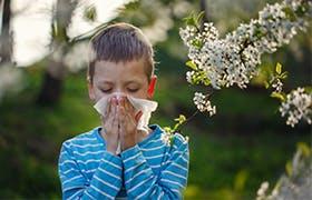 Rinite allergica nei bambini: cause, sintomi e rimedi - Narhinel
