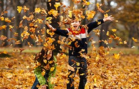 Cosa fare in autunno con i bambini - Narhinel
