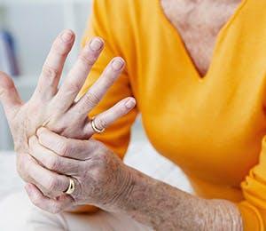 Representation of hand pain.