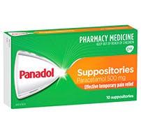 Panadol Suppositories