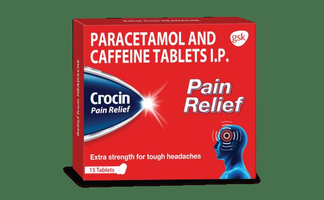 Crocin Pain Relief Tablets