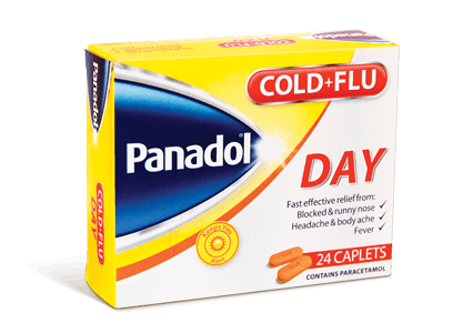 Panadol Cold & Flu + Decongestant  Day