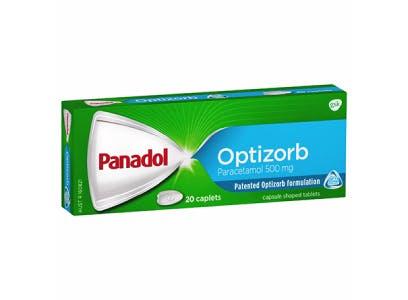 Panadol Caplets with Optizorb