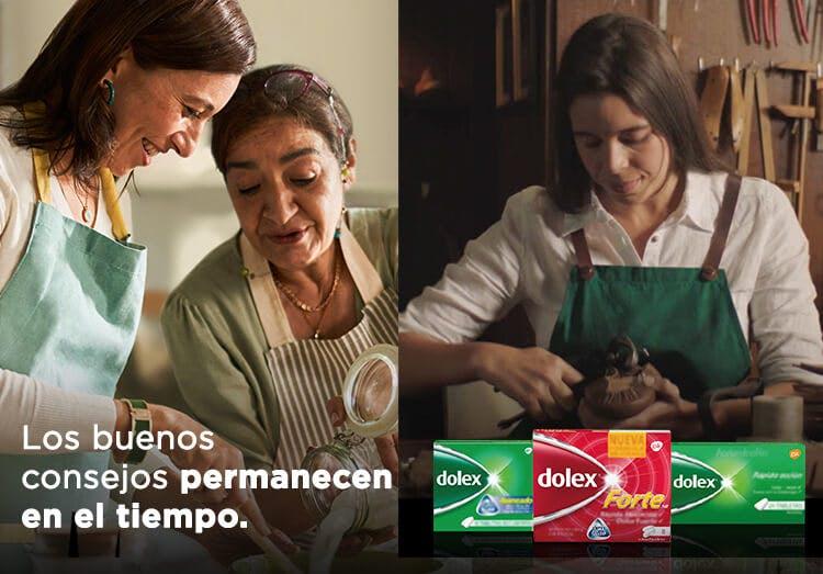 Mamá e hija cocinando | productos Dolex