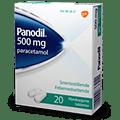 Panodil 500 mg smertestillende piller
