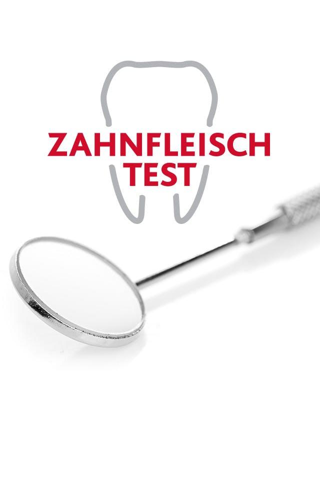 Zahnfleisch Test