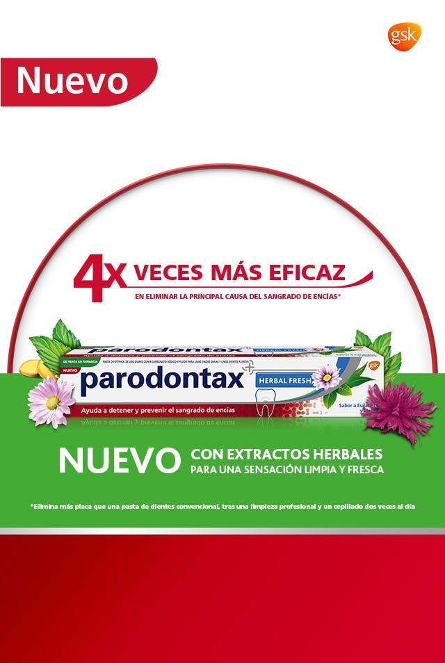 Pasta de dientes Parodontax Extra Fresh - 4 veces más eficaz