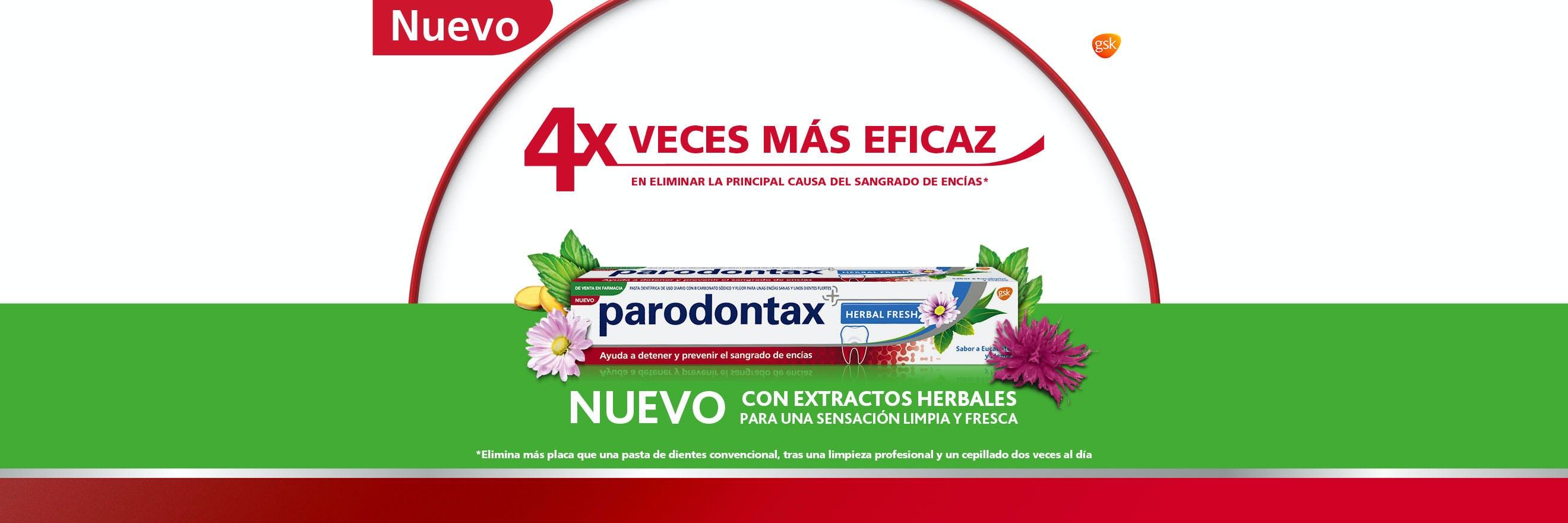 parodontax pasta de dientes Extra Fresh de uso diario