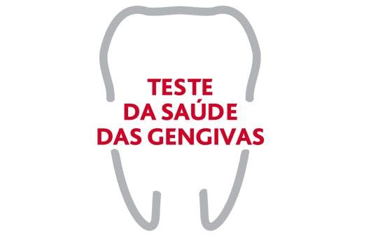 Logótipo do Teste da Saúde das Gengivas