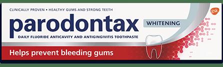 parodontax gum health whitening toothpaste