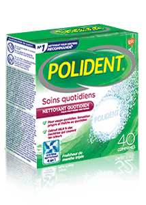 Polident 3 minute cleanser product