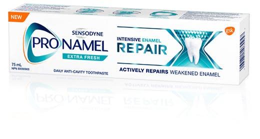 Box of Pronamel Intensive Enamel Repair toothpaste Extra Fresh