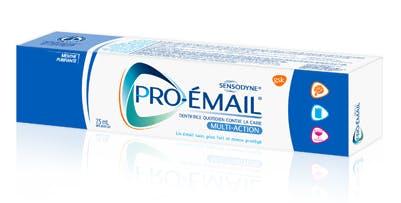 Boîte de dentifrice Pro-Émail® Multi-Action
