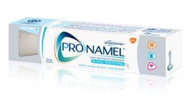 A box of Pronamel® Gentle Whitening Toothpaste